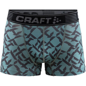 Craft Greatness Underwear Men grey/turquoise